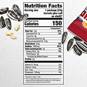 David Roasted And Salted Original Sunflower Seeds 1625 Ounce Pack Of 12 from ConAgra Foods Sales, Inc.