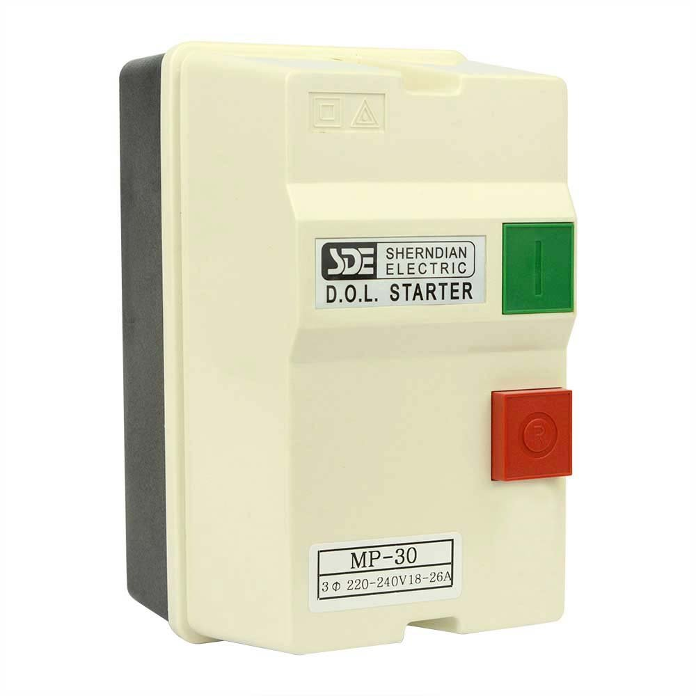 Big Horn 18837 3-Phase, 220-240-Volt, 7.5-HP, 18-26-Amp Magnetic Switch - CSA Approved