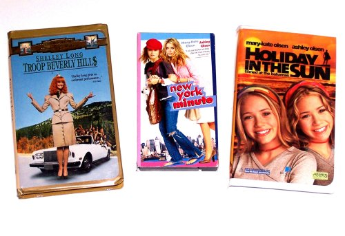 Girls Vacation Video Collection (3pk): Holiday in the Sun; New York Minute; Troop Bevery Hills