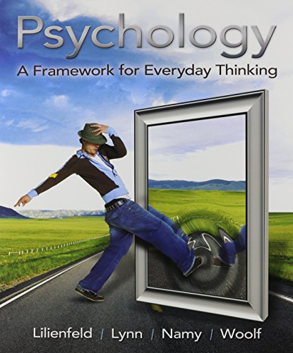 Psychology: A Framework for Everyday Thinking with MyPsychLab Pegasus and Pearson eText