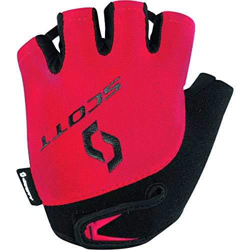(Scott Sports Youth Ys Aspect Short Finger Cycling Gloves - 227997 (red - L))