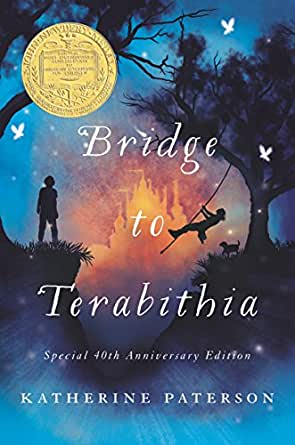 Image result for bridge to terabithia book cover