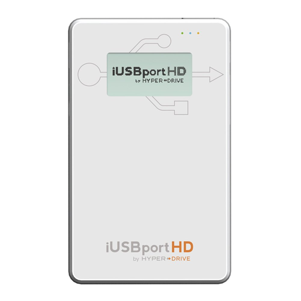 HyperDrive iUSBport HD - Wireless Hard Drive & USB port for iPhone, iPad & Android - Casing Only
