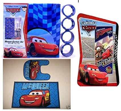Amazon.com: 16pc Disney Cars Bathroom Set: Home & Kitchen