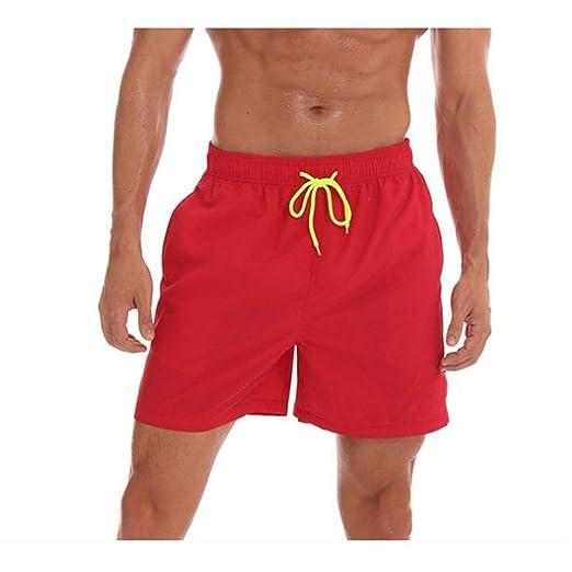 Shorts de baño para Hombre para Hombre Impermeable Sólido ...