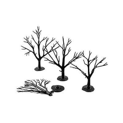 "Woodland Scenics Deciduous Tree Armatures 3""- 5"": Toys & Games"