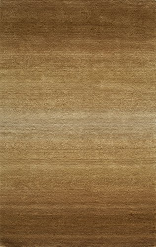 Momeni Rugs METROMT-12LBN5080 Metro Collection, 100% Wool Hand Loomed Contemporary Area Rug, 5' x 8', Light Brown