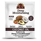 Coconut Oil Leave in Conditioner Okay Coconut Oil Deep Moisturizing Leave in Conditioner, 1.5 Ounce