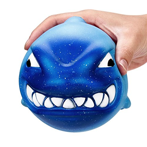 Leegor Slow Rising Squishy Toys 12Cm Squishy Big Shark Cream Scented Slow Rising Squeeze Toys Collection Charm Toy For Children Adults