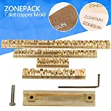 hot stamping foil - ZONEPACK Copper Brass Stamping Flexible Letters Numbers Alphabets Symbols Characters Molds CNC Engraving Molds for Hot Foil Stamping Machine (Microsoft Elegant Black)