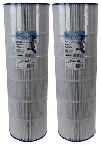 Unicel 2 NEW C-8420 Spa Pool Replacement Cartridge Filters 200 Sq Ft Hayward by Unicel