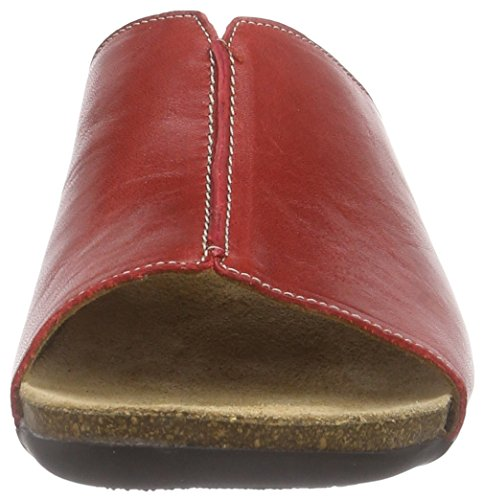 Ganter Giulia, Weite G - Mules Mujer Rojo - Rot (rosso 4100)