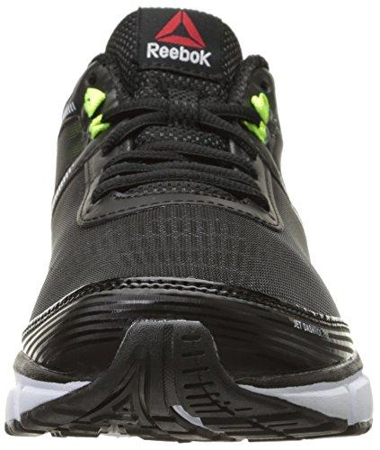 Reebok Jet Dashride 2.0 Laufschuh Black/White/Solar Yellow