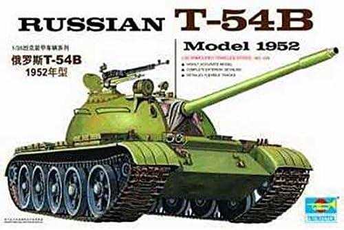 Trumpeter 00338 Modellbausatz Russischer Panzer T-54B