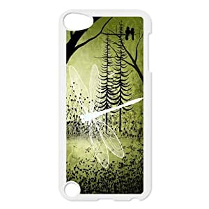 Personalized New Print Case for Ipod Touch 5, Dragonfly Phone Case - HL-R669195