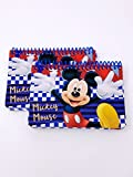 Disney Mickey Mouse Autograph Book, 2 pc, Blue Checkered