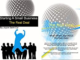 Starting a Small Business  The Real Deal by [Saint-Cyr, Joyce]