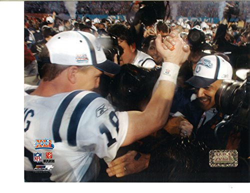 Indianapolis Colts Peyton Manning #18 8x10 Unsigned Photo (Ready For Signatures!) Super Bowl XLI Authentication