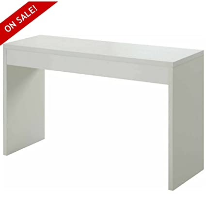 Amazon Com Hallway Console Table Narrow White Accent Foyer Home