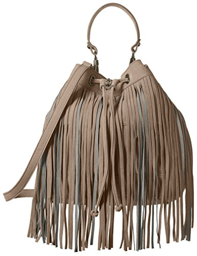 Sorial Women's Carli Large Drawstring, Soft Gray