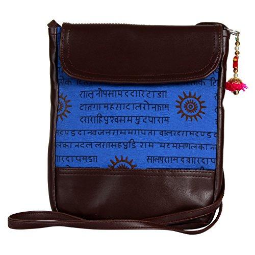 Mantra indiana autentica designer indiano borsa a tracolla