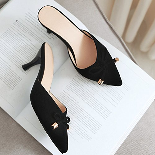 Femme JYshoes JYshoes Noir Noir Femme Mules Mules JYshoes Mules Femme Noir JYshoes BFEwfq4F