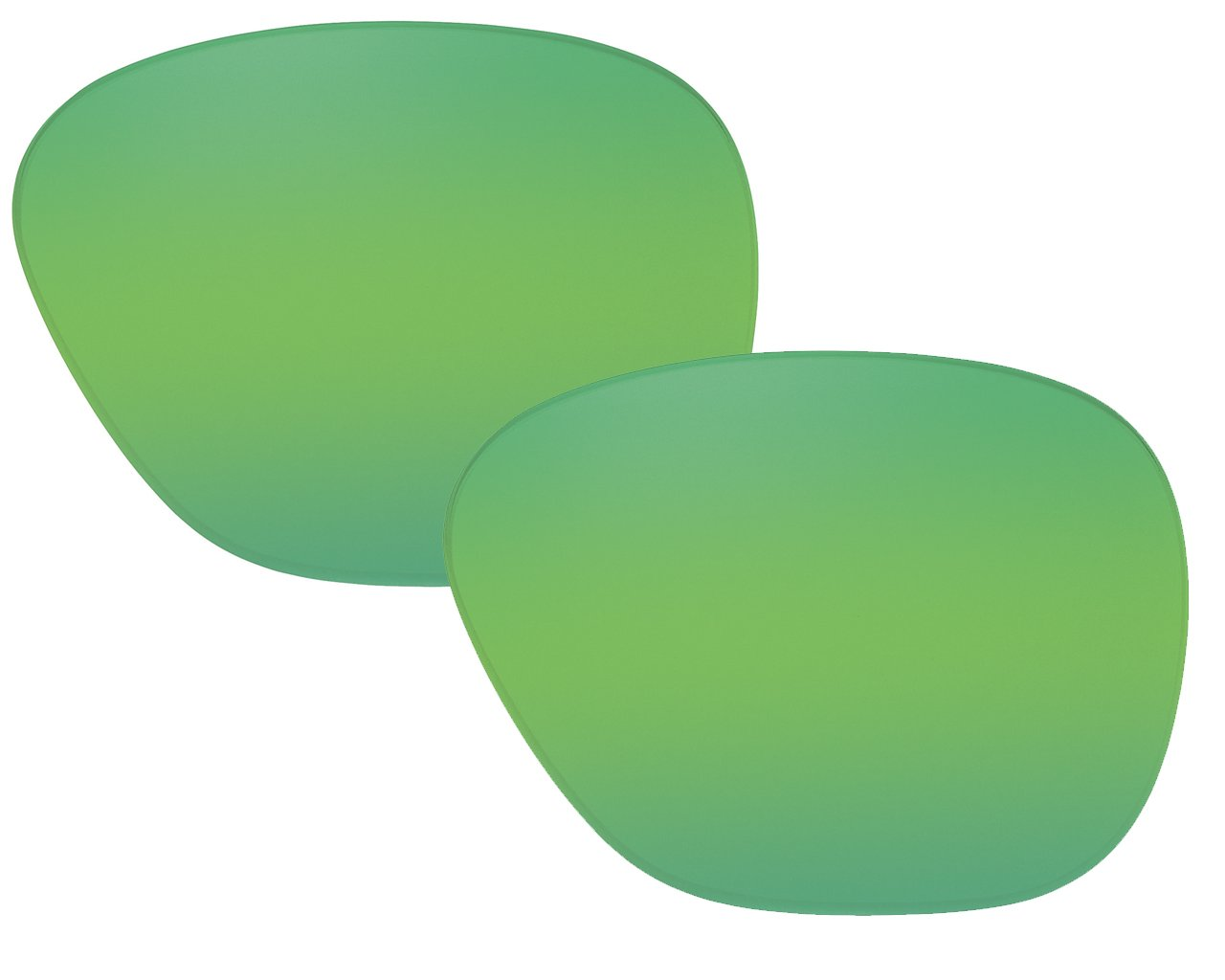 Suncloud Optics Sentry Authentic Replacement Polarized Lenses (Green Mirror Lens)