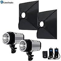 LimoStudio Flash Strobe Lighting Kit, 300 Watt Flash Light