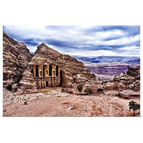 GREATBIGCANVAS Poster Print Entitled Ad Deir, Monastery of Petra, Jordan by ()