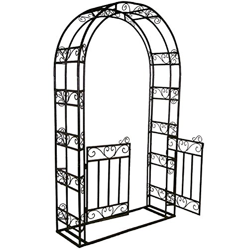 Oakland Living Corporation Arbor with Gate and Base ()