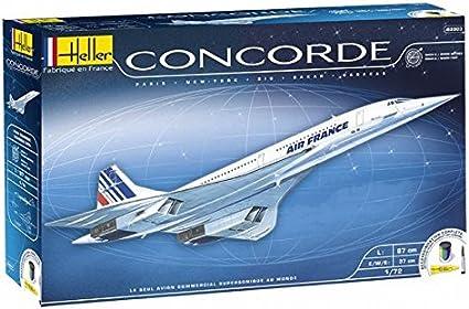 Neu Heller 52903-1:72 Concorde Kit