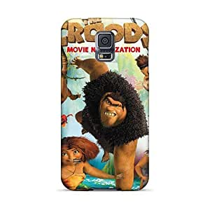 Marycase88 Samsung Galaxy S5 Scratch Resistant Cell-phone Hard Covers Custom Trendy The Croods Pattern [wmu14456LTQu]