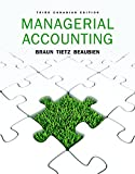 img - for Managerial Accounting, Third Canadian Edition Plus NEW MyAccountingLab with Pearson eText -- Access Card Package (3rd Edition) book / textbook / text book