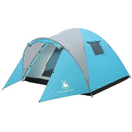 Tiendas de campaña Tienda de campaña Familiar Camping Cuatro ...
