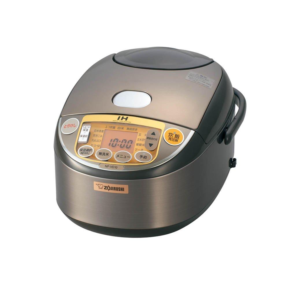 ZOJIRUSHI IH Rice Cooker NP-VD10-TA(Japan Import)