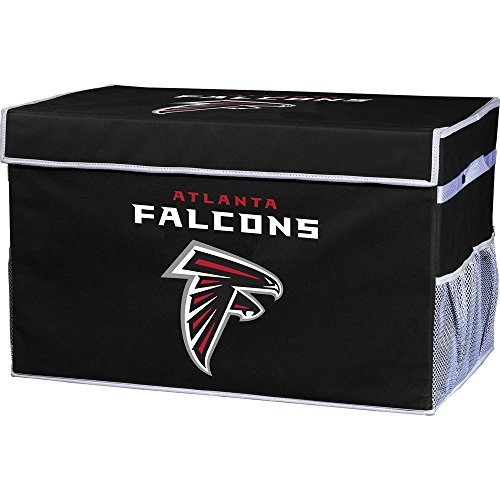 Falcons Collapsible (Franklin Sports NFL Atlanta Falcons Collapsible Storage Footlocker Bin - Small)