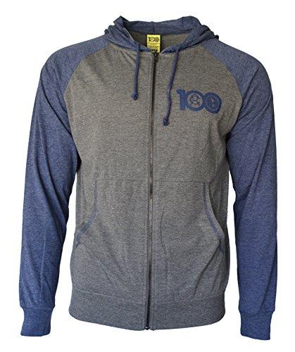 Club America Hoodie Centenario Fz Summer Light Zip up Jacket Grey Adults