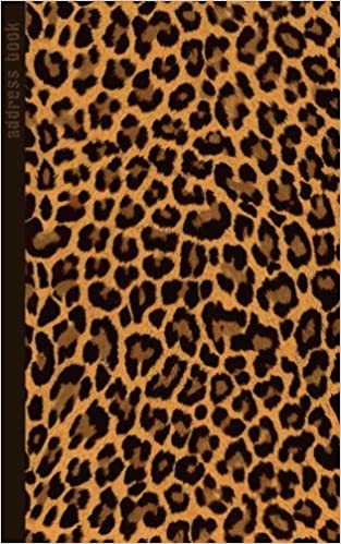 address book leopard print gifts presents small telephone and address book address books animal print smart bookx 9781515213253 amazoncom - Small Animal Pictures To Print