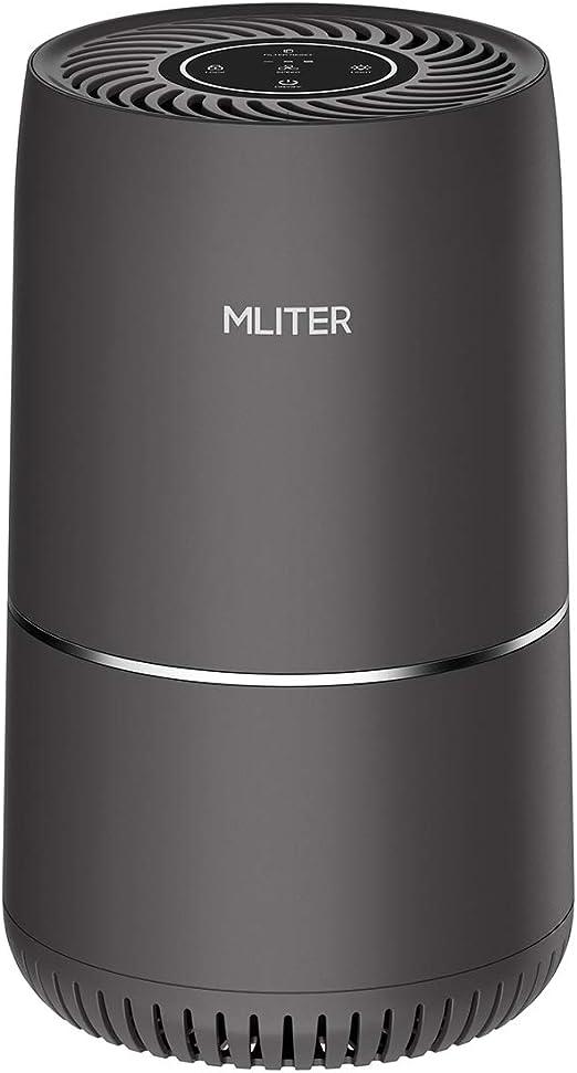 MLITER Purificador de Aire Auténtico Filtro HEPA, 3 Niveles ...