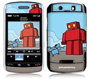 Music Skins MS-EXDG40008 BlackBerry Storm .50- 9500-9530-9550- EXPLODINGDOG- Red Robot Skin