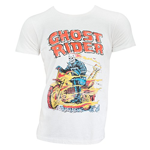 Rider Ghost - Ghost Rider - Hell on Wheels (slim fit) T-Shirt Size XXL