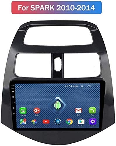 Todo Netcom 4G LTE Android 8.0 PC del Coche DVD GPS estéreo Jugador de la navegación para el período 2010-2014 el Chevrolet Beat Spark,WiFi, 1 + 16g