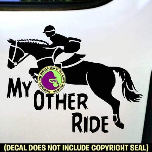equestrian hunter jumper sticker Hunter Jumper horse trailer Equestrian Jumper