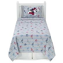 Disney Mickey Mouse Heavyweight Flannel Sheet Set (Twin)