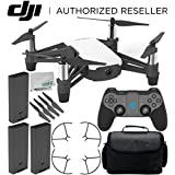 Ryze Tello Quadcopter Drone with HD camera and VR - powered by DJI technology and Intel Processor with GameSir T1d Bluetooth Gaming Controller Ultimate Travel Bundle