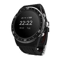 Chengstore Smart Watch impermeabile fitness tracker Medical livello monitoraggio monitoraggio della pressione arteriosa di ossigeno nel sangue cardiofrequenzimetro per donne, uomini Smartwatch contapassi per Android e iOS