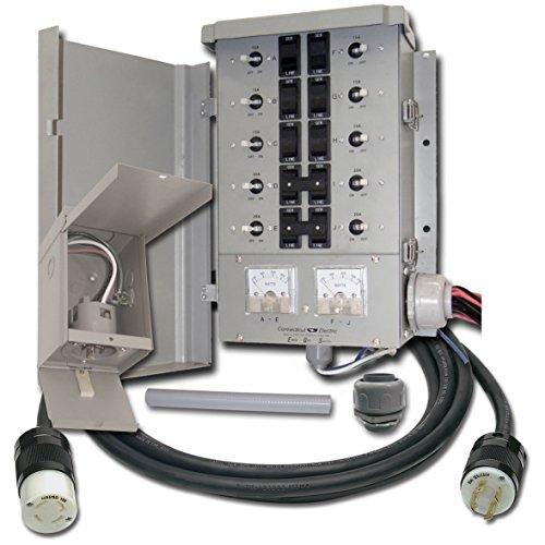 Connecticut Electric EGS107501G2KIT EmerGen 10 CIRCUIT TRANSFER SWITCH KIT (Renewed) (Switch Emergen)