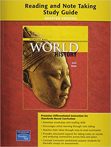 PRENTICE HALL WORLD HISTORY ADAPTED READING AND