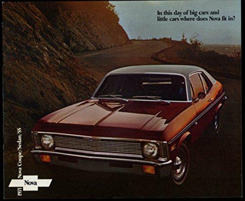 Nova Sedan - 1971 Chevrolet Nova Coupe Sedan & SS sales brochure