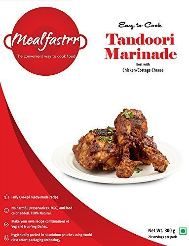 Mealfastrr tandoori chicken marinate ready to cook and eat indian mealfastrr tandoori chicken marinate ready to cook and eat indian food meal grill marinade masala for forumfinder Image collections